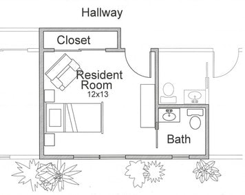 Bross-street-assisted-living-individual-room-plan